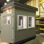 6 x 8 Guard Booth-Security Booth-Shown with upgrades
