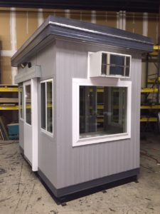 6 x 10 Guard Booth with One Sliding Door