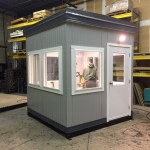 8 x 8 Guard Booth-Titus Model-100-130MPH Zone