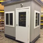 Michelin-UTI-6 x 8 Security Booth