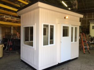 6 x 10 Guard Booth-Custom Color