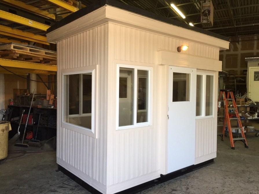6 x 10-Guard Booth-Sliding Doors