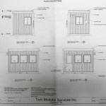 Guard Booth, Guard Shack, Guard House Drawings-Elevations