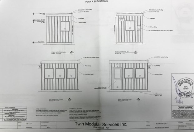 Guard Booth Guard Shack Guard House Drawings Floor Plans