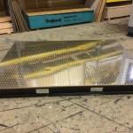 Guard Shack manufacturer-Steel Base Frame with Fork-Lift Pockets-Aluminum Floor