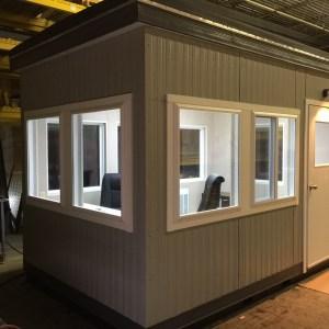 8x12 Guard Booth-812GHB