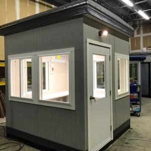 8x8 Guard Booth