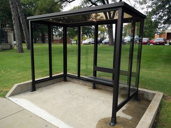 5 x 10 Bus Stop Shelter