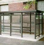 5 x 15 Bus Stop Shelter 1 Opening