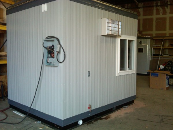 8 x 10 Guard House with Restroom-Exterior