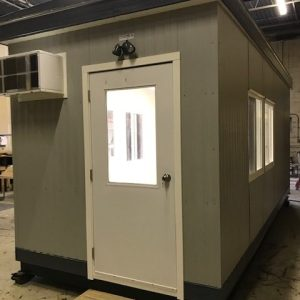 8 x 20 Guard House-Restroom