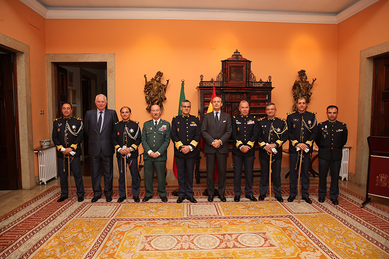 Reunión bilateral entre la Guardia Civil y la Guardia Nacional Republicana de Portugal