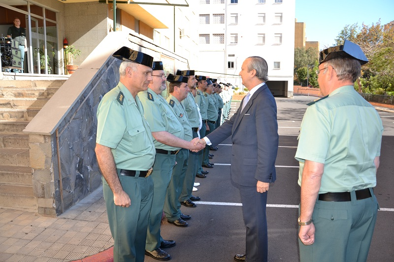 El Director General realiza Visita de Inspección a Zona de la Guardia Civil de Canarias