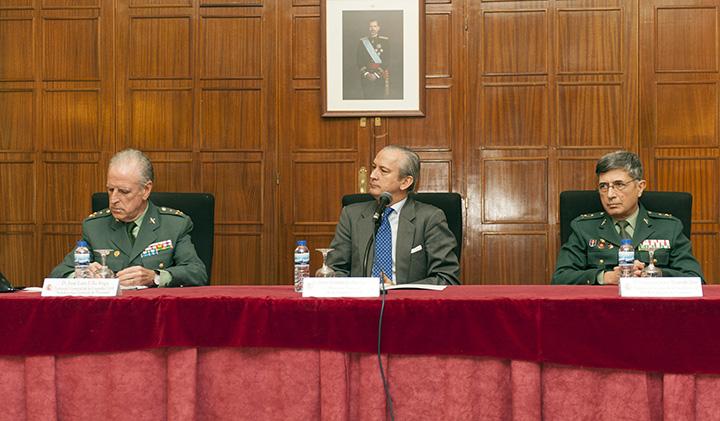 El Director General inaugura el LXXI Curso de Capacitación para el ascenso a Comandante