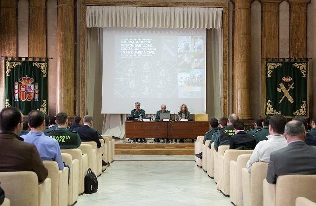 Segunda Jornada sobre Responsabilidad Social Corporativa en la Guardia Civil