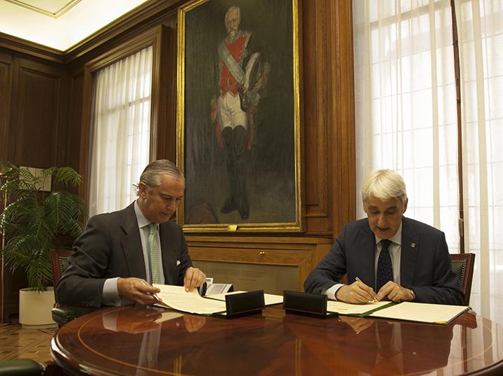 La Guardia Civil y la Universidad de La Rioja firman un protocolo de colaboración en materia de formación e investigación