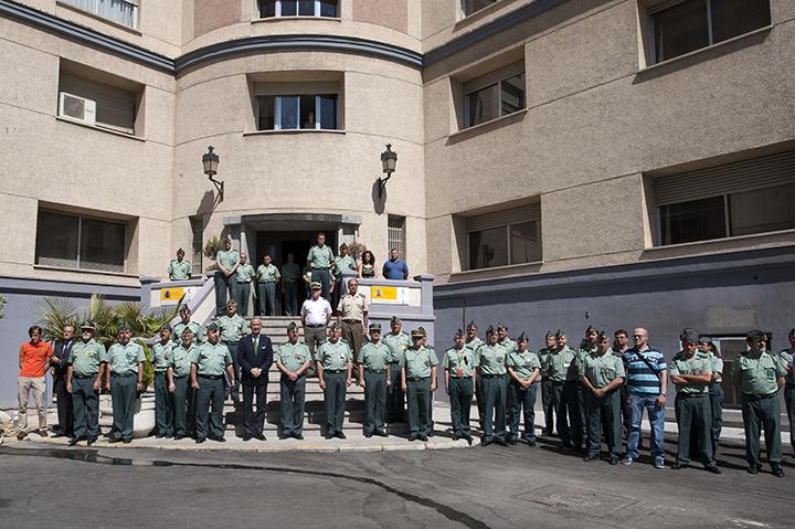 El Director General de la Guardia Civil se desplaza a Santiago de Compostela