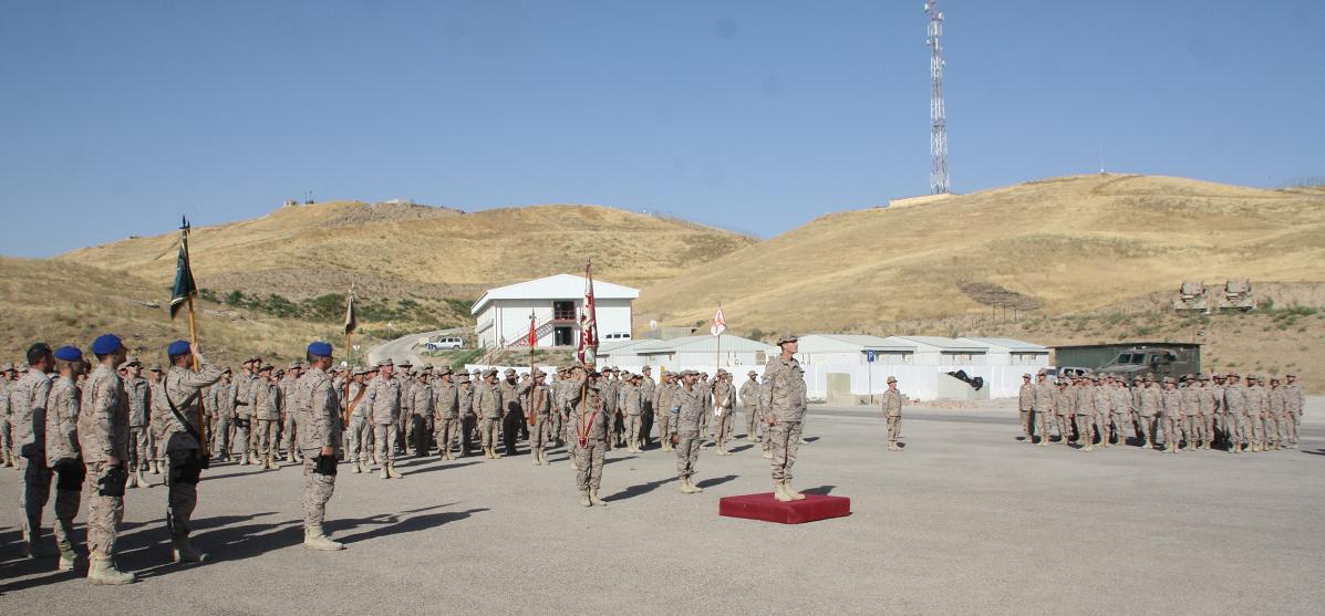 Homenaje en Afganistán a los dos Oficiales de la Guardia Civil y al intérprete que fallecieron en 2010