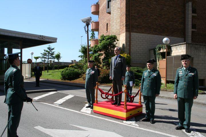 El Director General de la Guardia Civil se reúne con los responsables de la Zona de la Guardia Civil en Cantabria