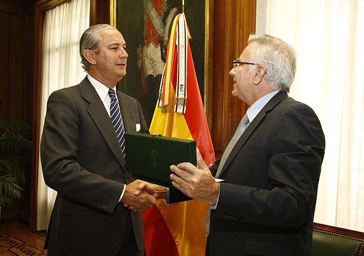 El Director General de la Guardia Civil se reúne con el Director General de la Guarda Nacional Republicana de Portugal