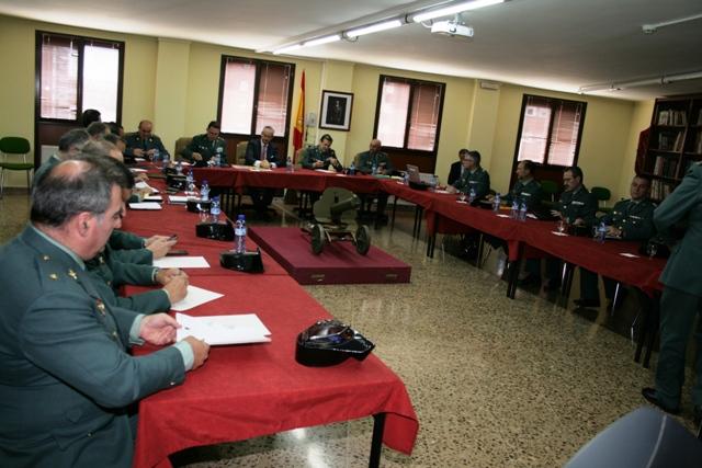 El Director General de la Guardia Civil se reúne con los Mandos de la Zona de Cataluña