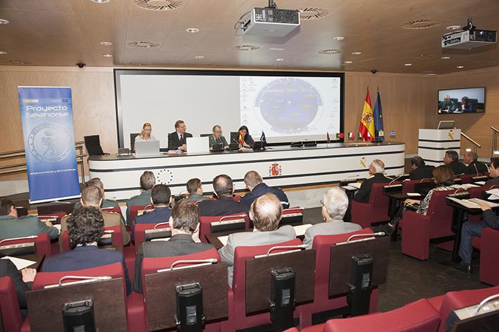 El Comité de Dirección del Proyecto Seahorse se reúne en la Dirección General de la Guardia Civil