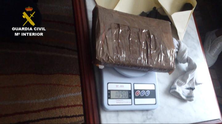 La Guardia Civil desarticula el mayor grupo de distribución de cocaína en Castilla y León