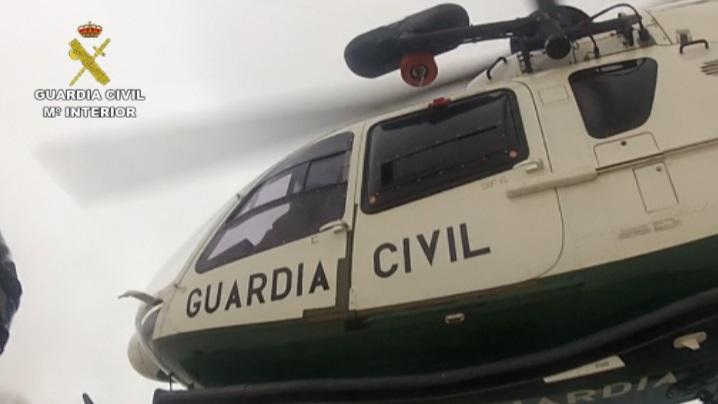 La Guardia Civil rescata a cinco personas tras pasar toda la noche a la intemperie en el Pirineo de Huesca