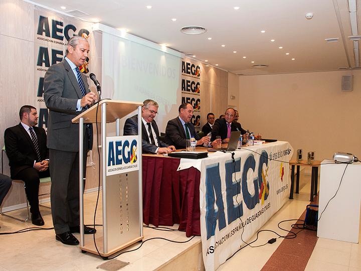 El Director General de la Guardia Civil inaugura la 13ª Asamblea Nacional de la Asociación Española de Guardias Civiles