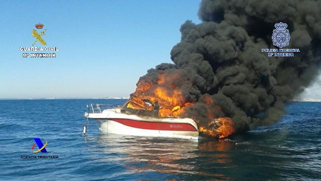 Desarticulada una organización que introducía hachís desde Marruecos en embarcaciones con doble fondo