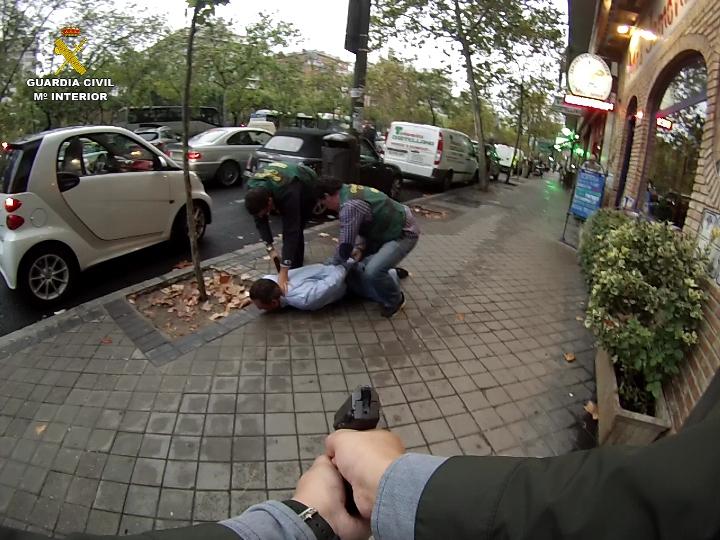 La Guardia Civil detiene al jefe de una importante organización de narcotráfico buscado por la justicia belga
