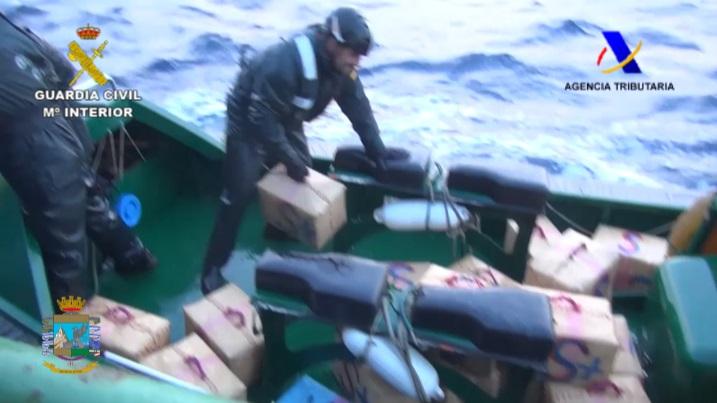 Abordado frente a las costas de Cerdeña un pesquero de bandera egipcia con 15 toneladas de hachís