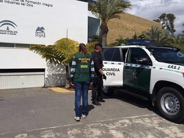 La Guardia Civil detiene a 16 personas por su vinculación con la gestión irregular de fondos de formación