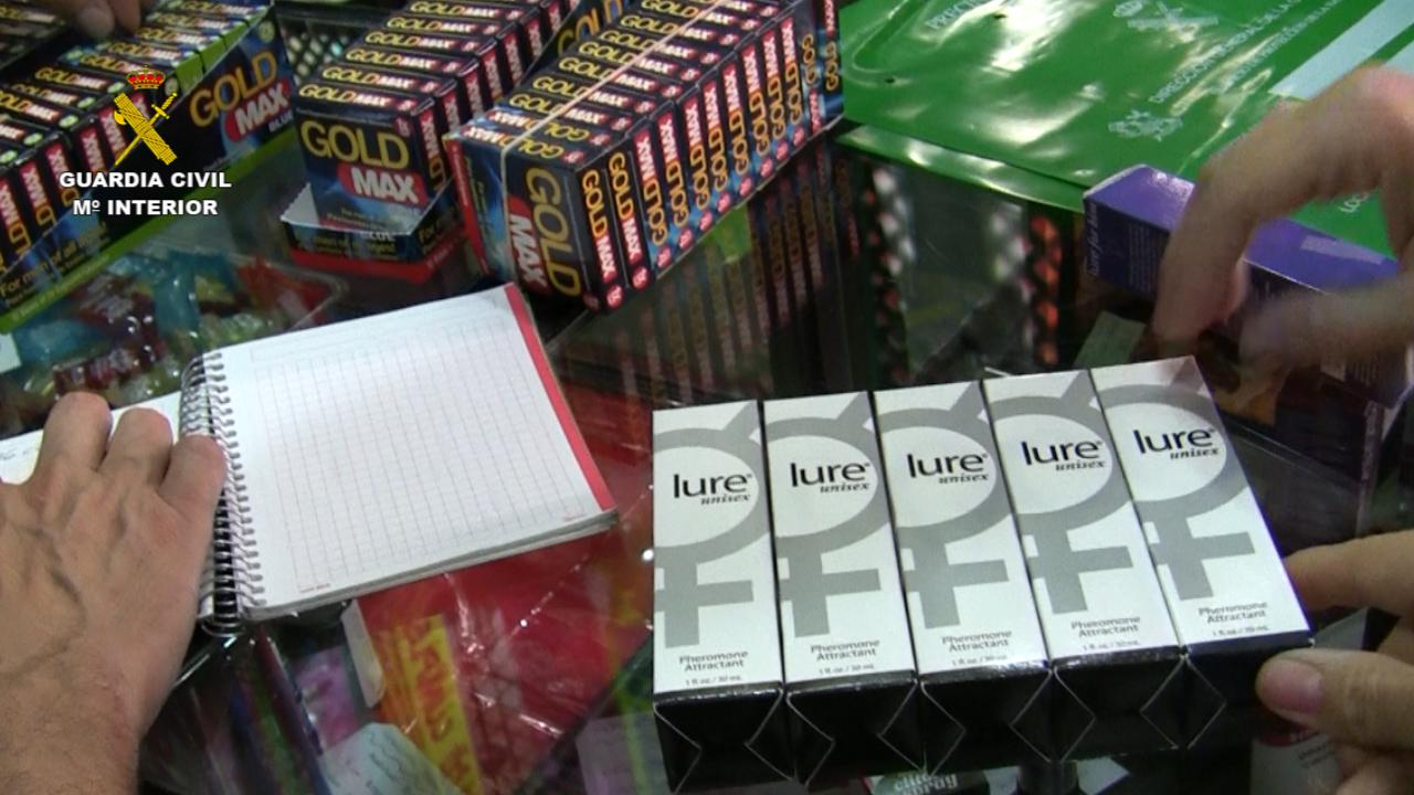 La Guardia Civil interviene más de un millón de dosis de medicamentos falsificados o ilegales