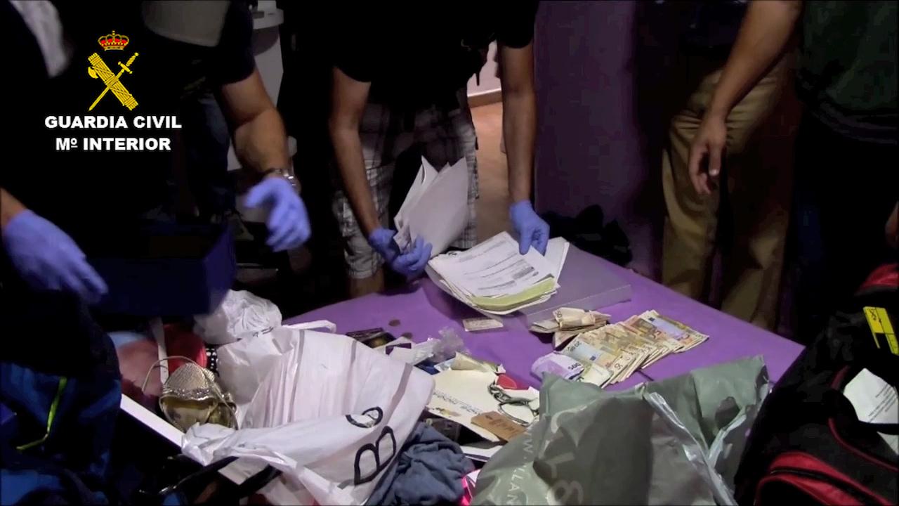 La Guardia Civil junto a la Policía de Frankfurt y BKA alemana, desmantela una importante organización dedicada al tráfico internacional de drogas