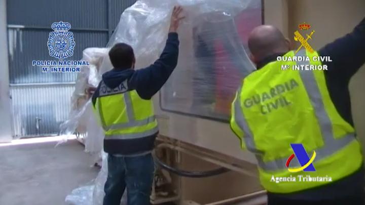 Desmantelado un grupo organizado que introdujo en España más de 400 kilogramos de cocaína