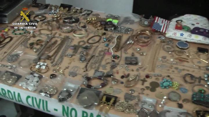 La Guardia Civil desmantela un grupo organizado especializado en el robo de viviendas a los que se les imputan más de 150 robos