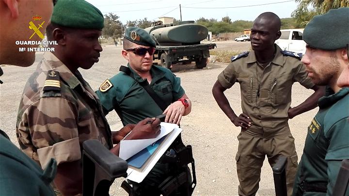 La Guardia Civil culmina con éxito una  operación internacional en Senegal contra el terrorismo