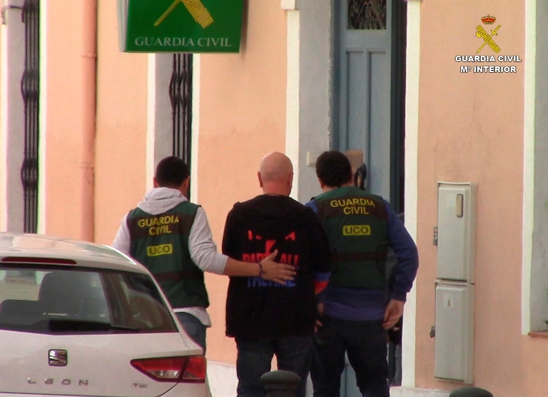 La Guardia Civil detiene a cuatro personas reclamadas por las autoridades judiciales rusas