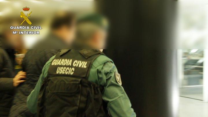 La Guardia Civil desmantela un grupo especializado en estafas piramidales a nivel internacional