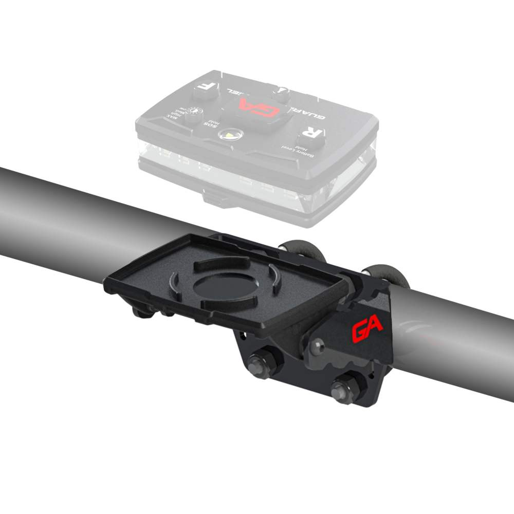 Bike/Rail U Bracket Mount with Magnetic Mount