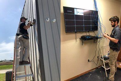 security camera installation houston