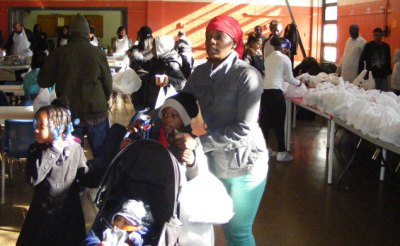 Thanksgiving Outreach Edgemere Community Center Far Rockaway