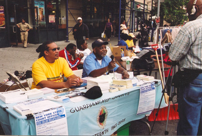 The Grand Council of Guardians, in cooperation with the Martin Luther King, Jr. Center and the Juneteenth Committee of New York celebrated Juneteenth, on 116th Street.