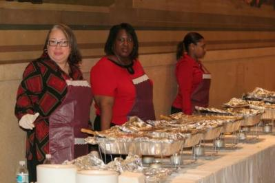 2007 - Buffet provided by Bama's Catering