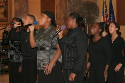 2007 - Voices of Isiah Lewis Land Productions feat. MS 302 & Aerospace H.S.