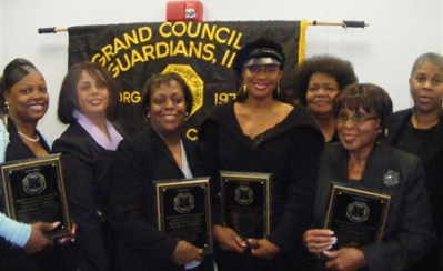 Deputy Chief Clerk V Renee L. Rudder, 3rd from left, with Susan L. Taylor and fellow awardees at our 3rd Annual Women's History Month Celebration, Mar.19th, 2009