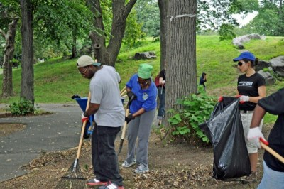 Grand Council - St. Mary's Park Clean Up 3