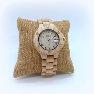 Orologio in legno unisex Green Time