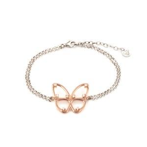 Bracciale farfalla Jack e co in argento 925